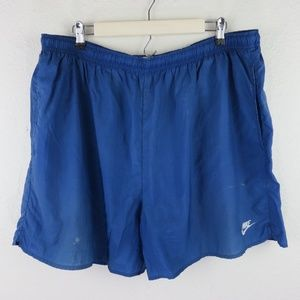 Nike Blue Vintage Lined Swim Trunk Shorts